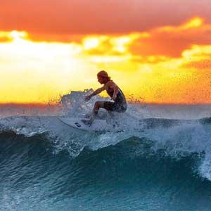 Infografía: pasos para aprender el deporte del surf 1